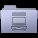 Folder, Lavender, Transmit Icon
