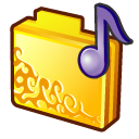 Folder, Musics Icon