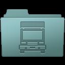 Folder, Transmit, Willow Icon