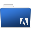 Adobe, Folder, Photoshop Icon