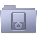 Folder, Ipod, Lavender Icon