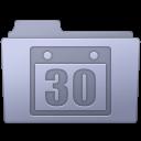 Folder, Lavender, Schedule Icon