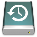 Disk, Timemachine Icon