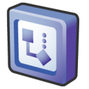 Microsoft, Office, Visio Icon