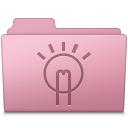 Folder, Idea, Sakura Icon
