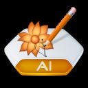 Ai, Illustrator Icon