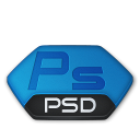 Photoshop, Psd, v Icon