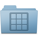 Blue, Folder, Icons Icon