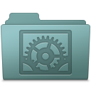 Folder, Preferences, System, Willow Icon