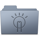 Folder, Graphite, Idea Icon