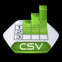 Csv, Excel Icon