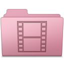 Folder, Movie, Sakura Icon