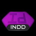 Indd, Indesign, v Icon