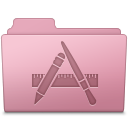 Applications, Folder, Sakura Icon