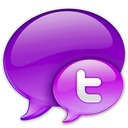 In, Logo, Pink, Small, Twitter Icon