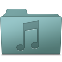 Folder, Music, Willow Icon