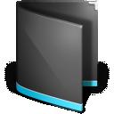 Black, Folder, Generic Icon