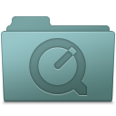 Folder, Quicktime, Willow Icon