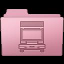 Folder, Sakura, Transmit Icon
