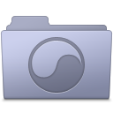Folder, Lavender, Universal Icon