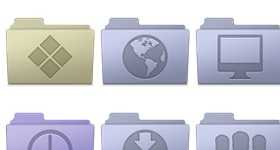 Smooth Leopard Icons