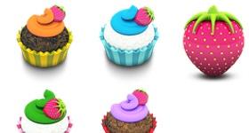 Aka Acid Cake Icons