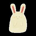 Ak, Bunny, Happy Icon