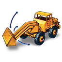 Hatra, Movement, Shovel, Tractor, With Icon