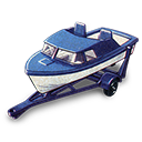 And, Boat, Trailer Icon