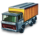 Container, Daf, Tipper, Truck Icon