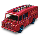 Fire, Land, Rover, Truck Icon
