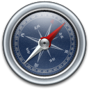 Blue, Compass Icon