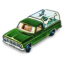 Kennel, Truck Icon