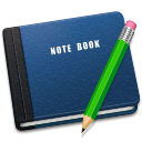 Alt, Book, Note Icon