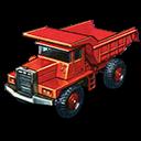 Dump, Mack, Truck Icon