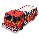 Fire, Pumper Icon