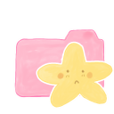 Ak, Candy, Folder, Sad, Starry Icon
