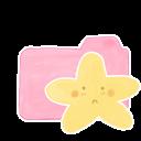 Ak, Candy, Folder, Sad, Starry Icon