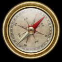Compass, Vintage Icon