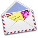 Airmail, Photo Icon