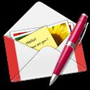 Gmail, Letter, Pen Icon