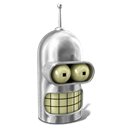 Bender, Metal, Shiny Icon