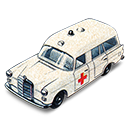 Ambulance, Benz, Mercedes Icon