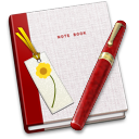 Book, Bookmark, Note Icon