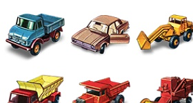 1960 Matchbox Cars Icons