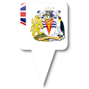 Antarctic, British, Territory Icon