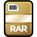 Compressed, File, Rar Icon