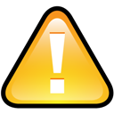 Button, Warning Icon
