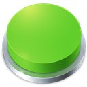 Button, Go, Perspective Icon
