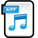Aiff, Audio, File Icon